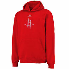 adidas Houston Rockets Youth Red Primary Logo Pullover Hoodie - NBA