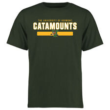 Vermont Catamounts Green Team Strong T-Shirt - College