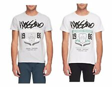Mossimo Men's Kingsway Cotton Crew Neck T-Shirt White or Concrete Marle 30% Off