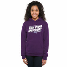 High Point Panthers Women's Purple Double Bar Pullover Hoodie - College