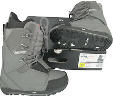 NEW! $280 Burton Hail Restricted Mens Snowboard Boots!  Charcoal Gray