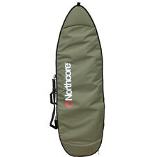 Northcore Board Jacket Short Fish Unisex Luggage Surfboard Bag - Olive All Sizes