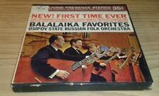 Osipov State Russian Orchestra Balalaika Favorites  Stereo Reel To Reel Tape