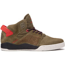 Supra Skytop Iii Mens Footwear Shoe - Olive Risk Red All Sizes