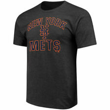 New York Mets Charcoal Victory Arch T-Shirt - MLB