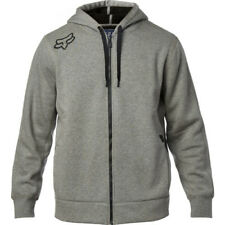 Fox Racing Reformed Sherpa Mens Hoody Zip - Heather Graphite All Sizes