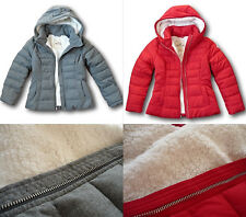 NWT Hollister-Abercrombie&Fitch Women's Sherpa Lined Puffer Jacket Quilted Coat