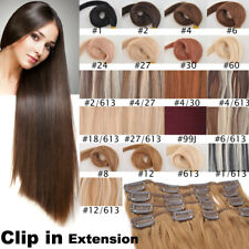 CW Hair 8A 15inch 70g 7pcs Hair Set 100% Remy Clip In Human Hair Extensions