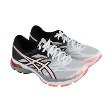 Asics Gel Flux 4 Womens White Mesh Athletic Lace Up Running Shoes