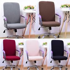 Thicken Chair Cover Comfortable Office Seat Swivel Chair Slipcover Decor 5 Color