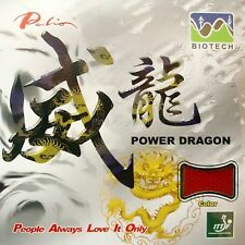 Palio Power Dragon BIOTECH Short Pips Out Table Tennis Rubber with Sponge
