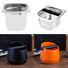 Various Coffee Knock Box with Handle Bucket Espresso Tamper Waste Bin Container