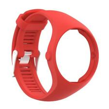 Silicone Rubber Wrist Strap Band + Metal Buckle For Polar A360 Fitness Watch