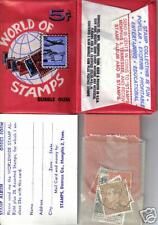 WORLD OF STAMPS 1964-5 Unopened 5c Five Cent Wax Gum Card Pack DONRUSS