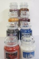 Village Candle 16Oz Medium Jar Double Wick Approx 105Hrs Burn Time- 8 Scents
