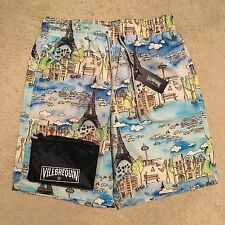 Vilebrequin Okoa Paris Swim Shorts / Trunks - Pastel Size M-XXXL RRP: £190.00