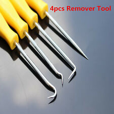 4pc Mini Precision Pick Hook Set O Ring Seal Gasket Puller Remover Scribe Probe