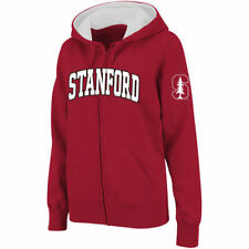 Stadium Athletic Stanford Cardinal Women's Cardinal Arched Name Full-Zip Hoodie