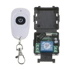 1CH Wireless Remote Control Switch Relay Receiver Module + DC 12V Transmitter