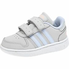 Adidas Unisex Children Sneaker Shoes Velcro Shoes VS Hoops 2.0 CMF I