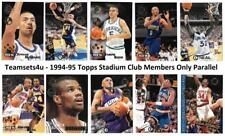 1994-95 Topps Stadium Club Members Only Basketball Set ** Pick Your Team **