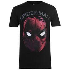 Mens Character Marvel T-Shirt Spiderman Distressed New