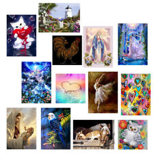 DIY 5D Diamond Embroidery Painting Cross Stitch Kit Wall Art Craft Home Decor