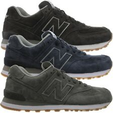New Balance ML574 men's low-top sneakers casual shoes full suede NEW