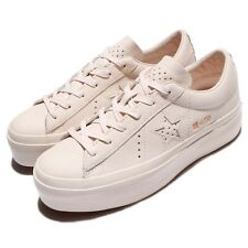 Converse One Star Platform Leather Ivory Women Ladies Shoes Sneakers 559899C