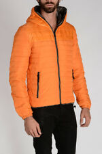 DUVETICA New Man Hooded Reversible Padded Goose Down PEONE ERRE Down-Jacket NWT