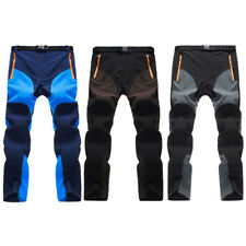 hot Outdoor Men Soft shell Camping Tactical Cargo Pants Mountain Hiking Trousers