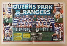 SHOOT football magazine team / squad A3 picture Queens Park Rangers - VARIOUS