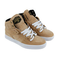 Osiris Nyc 83 Vlc Dcn Mens Tan Textile High Top Lace Up Sneakers Shoes