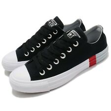 Converse Chuck Taylor All Star Low Black White Red Men Shoes Sneakers 159552C