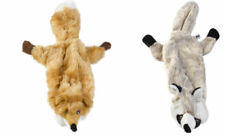 Petface Stuffing Free Woodland Critter Roadkill Toy Soft Squeaky Fox or Raccoon