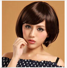 New  Women's Cosplay Party Wigs Girls Sexy Fashion Full Short Straight Wig Hair