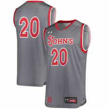 Under Armour #20 St. Johns Red Storm Gray Replica Performance Basketball Jersey