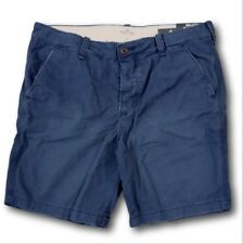 NWT Hollister by Abercrombie Classic Beach Prep Fit Shorts Navy Blue 36