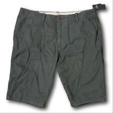 NWT Hollister-Abercrombie&Fitch Men's 100% Cotton Twill Longboard Shorts 38 Grey