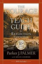 The Courage to Teach Guide for Reflection Palmer PB 10th Anniversary Sealed DVD