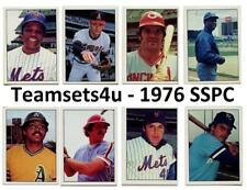 1976 SSPC Baseball Team Sets ** Pick Your Team Set **