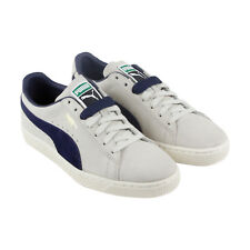 Puma Classic Archive Mens Gray Suede Lace Up Sneakers Shoes