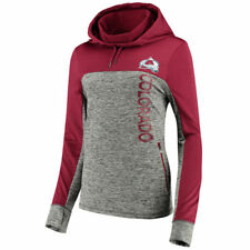 Colorado Avalanche Women's Gray Sideline Pullover Hoodie