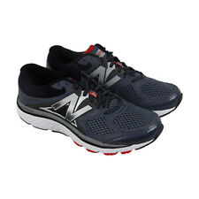 New Balance Course Mens Black Mesh & synthetic Athletic Lace Up Running Shoes