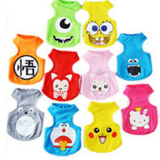 HOT-Small Pet Dog Clothes Fashion Costume Vest Puppy Cat T-Shirt Summer Apparel!