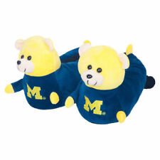 Michigan Wolverines Youth 3D Mascot Slippers - College