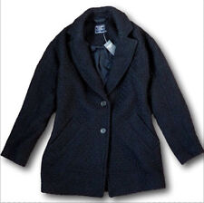NWT Abercrombie&Fitch by Hollister Women's Wool-Blend Overcoat Jacket Coat