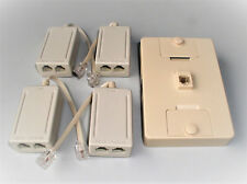 (5) 4 Inline Filter with1 Wall mount ADSL DSL DSL439