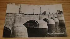 1940's WW II Era REAL Photo Maastricht Wilhelminabrug Holland Netherlands