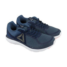 Reebok Astroride Run Mt Mens Blue Mesh Athletic Lace Up Running Shoes